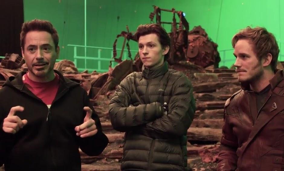 Vingadores: Guerra Infinita | Vídeo de produção apresenta Thor e Rocket juntos; elenco nos bastidores & mais