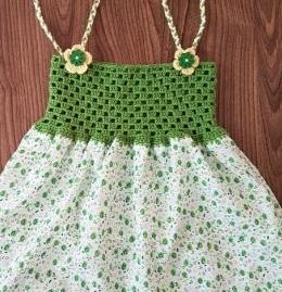 Yazlık Bebek Elbisesi