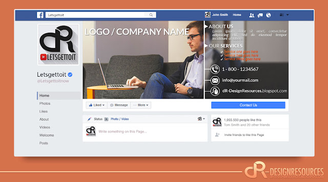 Free Professional Facebook Cover