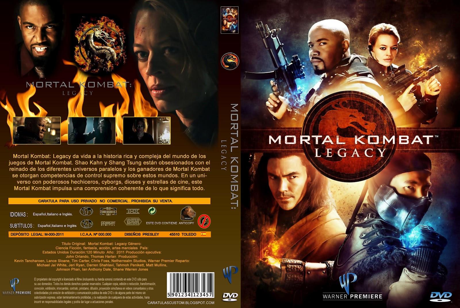 Mortal kombat legacy dvd amazon