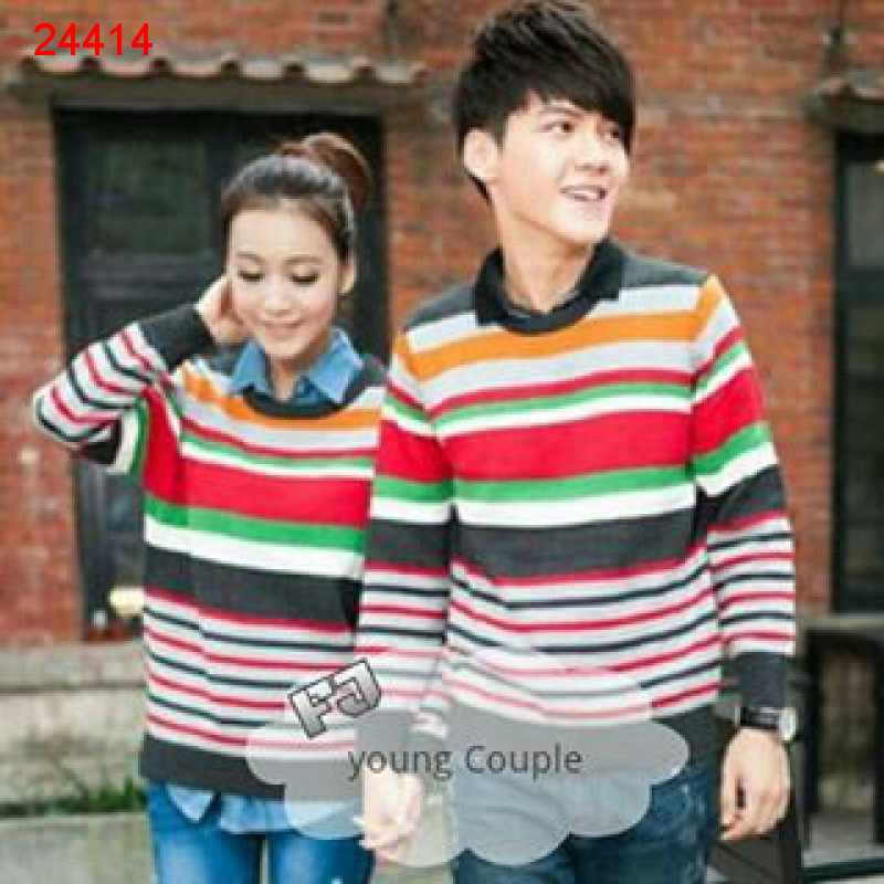 Jual Sweater Couple Sweater Young - 24414