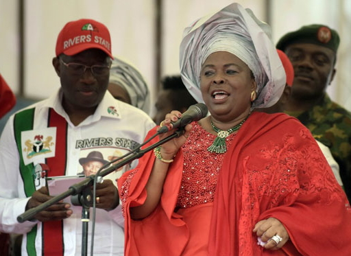 jonathan wife sponsored niger delta avengers