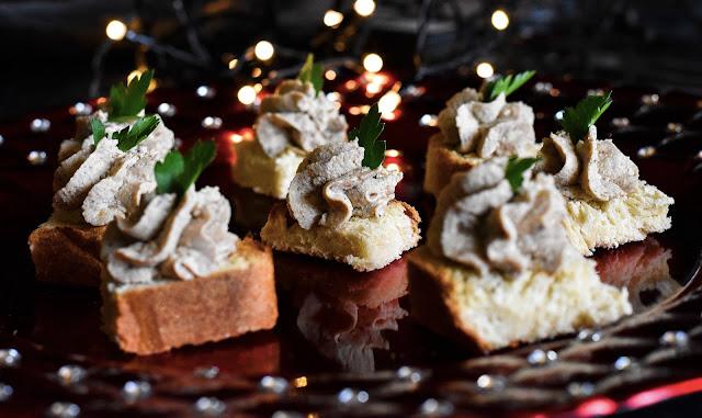 Mousse de faux foie gras vegan