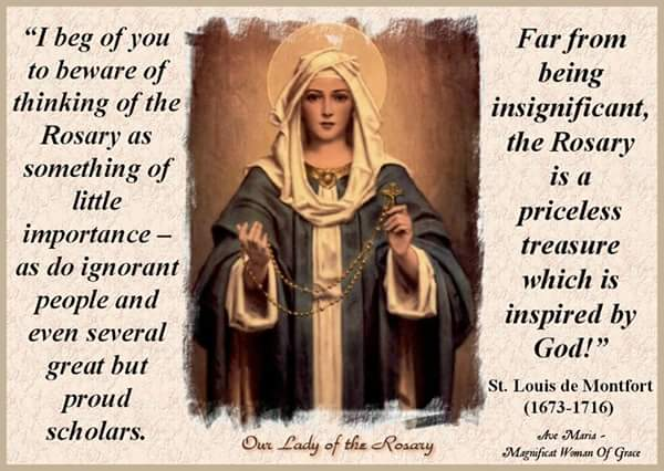 Image result for rosary month quotes