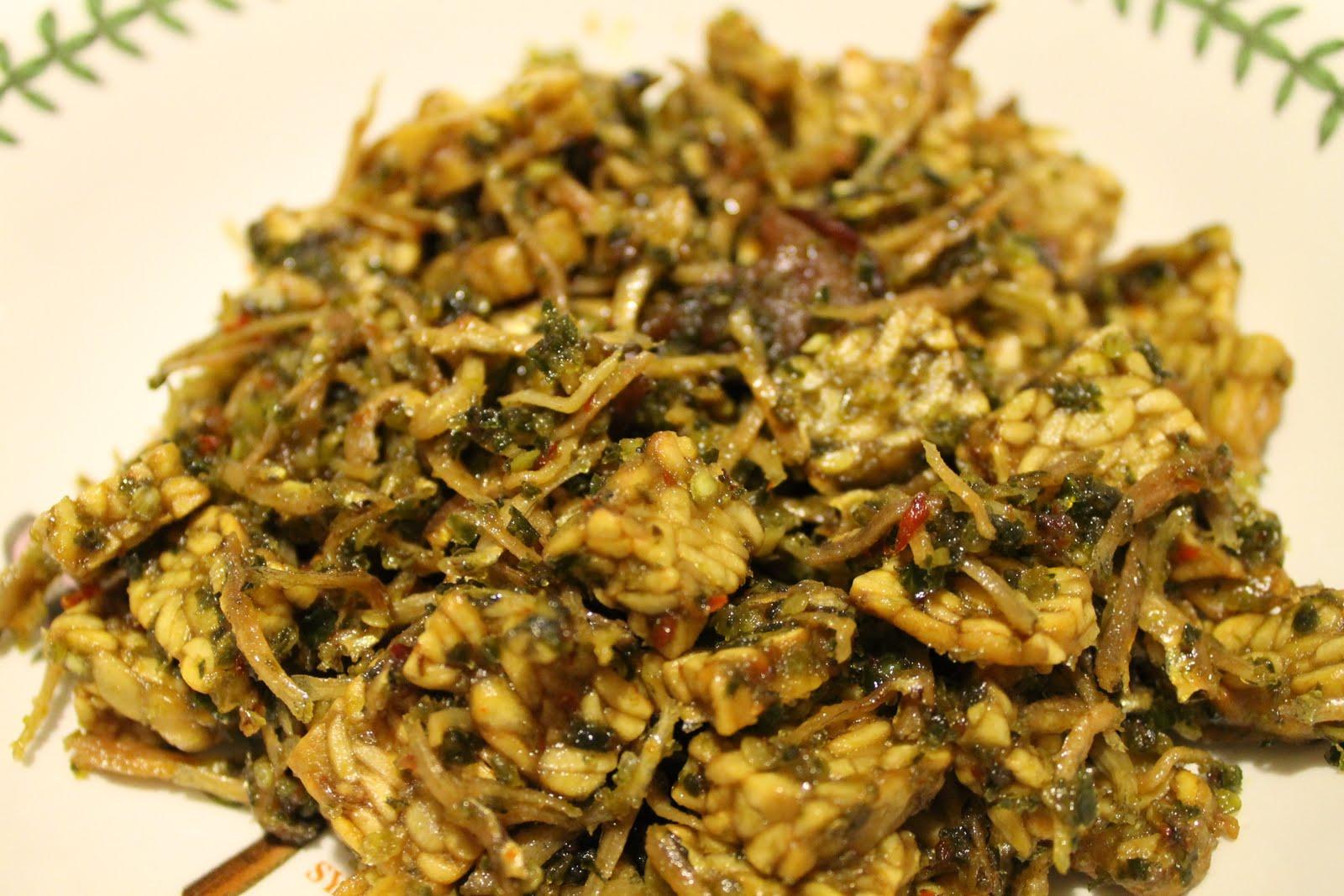 Ikan Bilis dan Tempe Goreng Cili Padi - Azie Kitchen