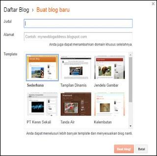 Membuat blog untuk guru sebagai media pembelajaran online