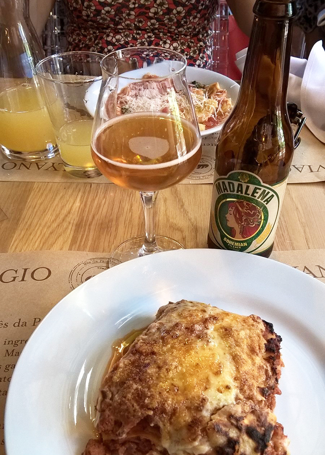 Almoço no Eataly SP