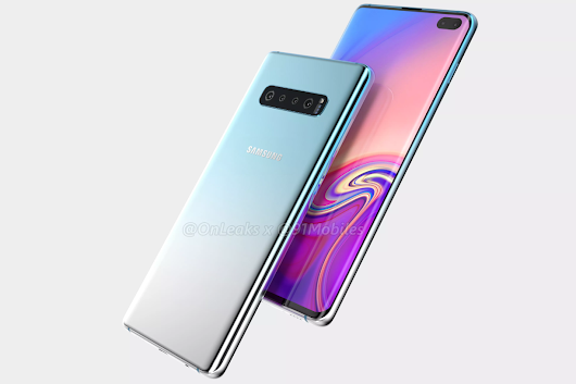 Samsung Galaxy S10+ Design Renders Reveals its Entire design for the First Time