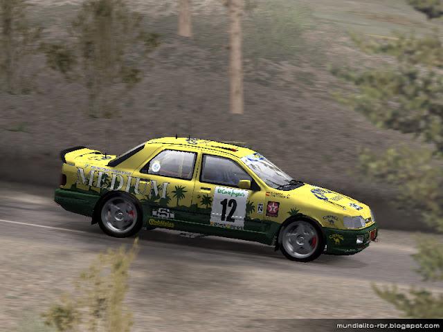 Ford Sierra RS Rallye El Corte Ingles 1993