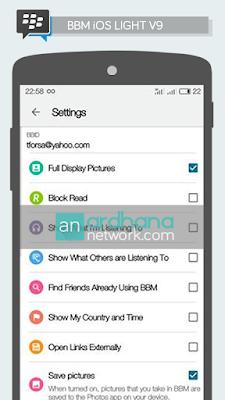 BBM iOS Light V9