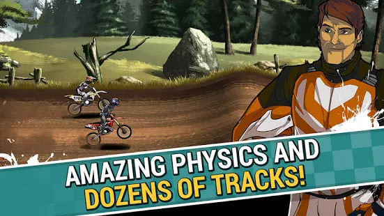 Mad Skills Motocross 2 v2.2.2 Mod Apk For Android