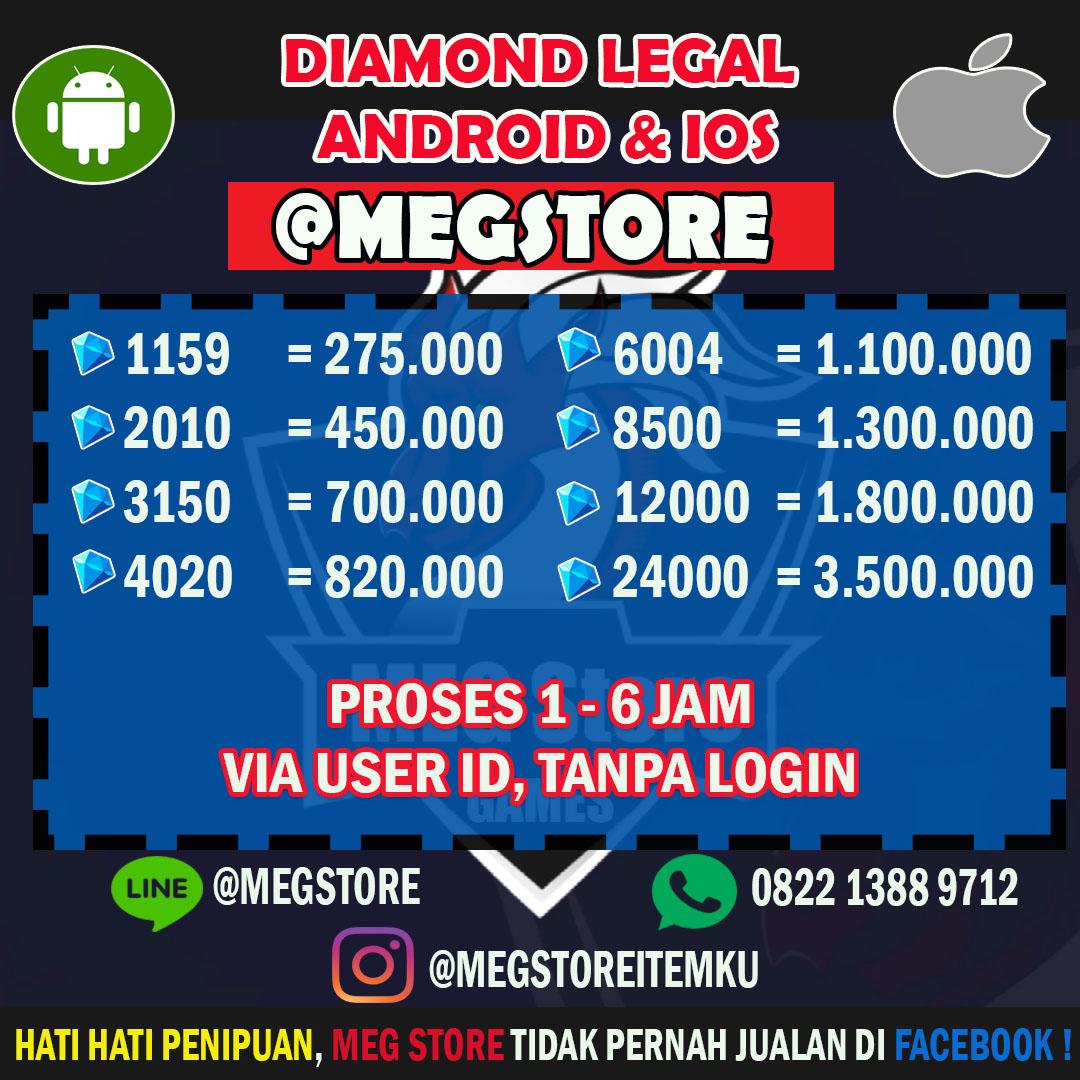 Starlight Member Mobile Legend Ilegal Gambarinsta Topup 220 Diamonds Jasa Top Up Diamond Legends Android Dan Ios Meg Store