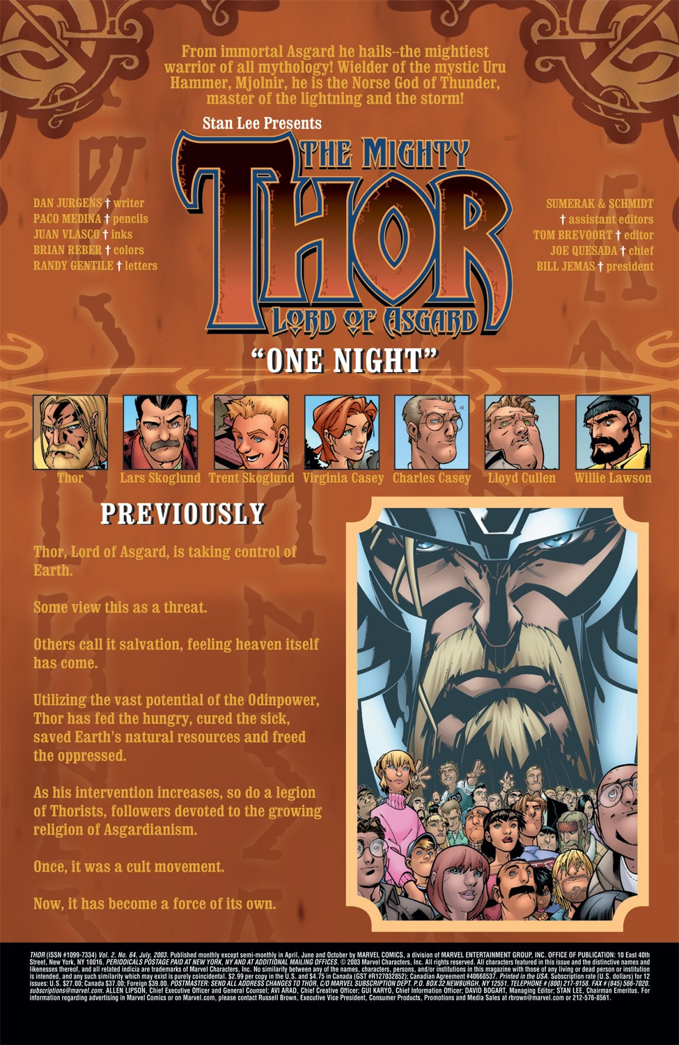 Thor (1998) Issue #64 #65 - English 2