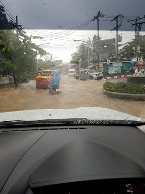 Flooding Koh Samui January 2017