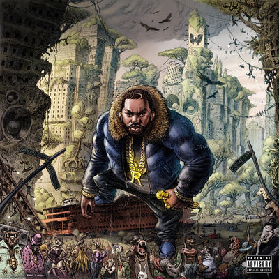 Raekwon - The Wild - Album Download, Itunes Cover, Official Cover, Album CD Cover