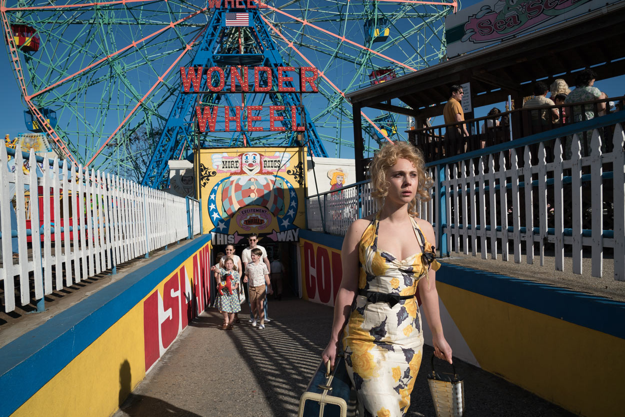 WONDER WHEEL - pelcula - Juno Temple
