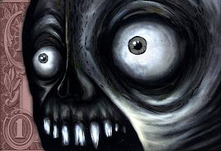 Scary Debt Face