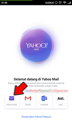 Buat email yahoo lewat hp daftar email gratis yahoo.co.id