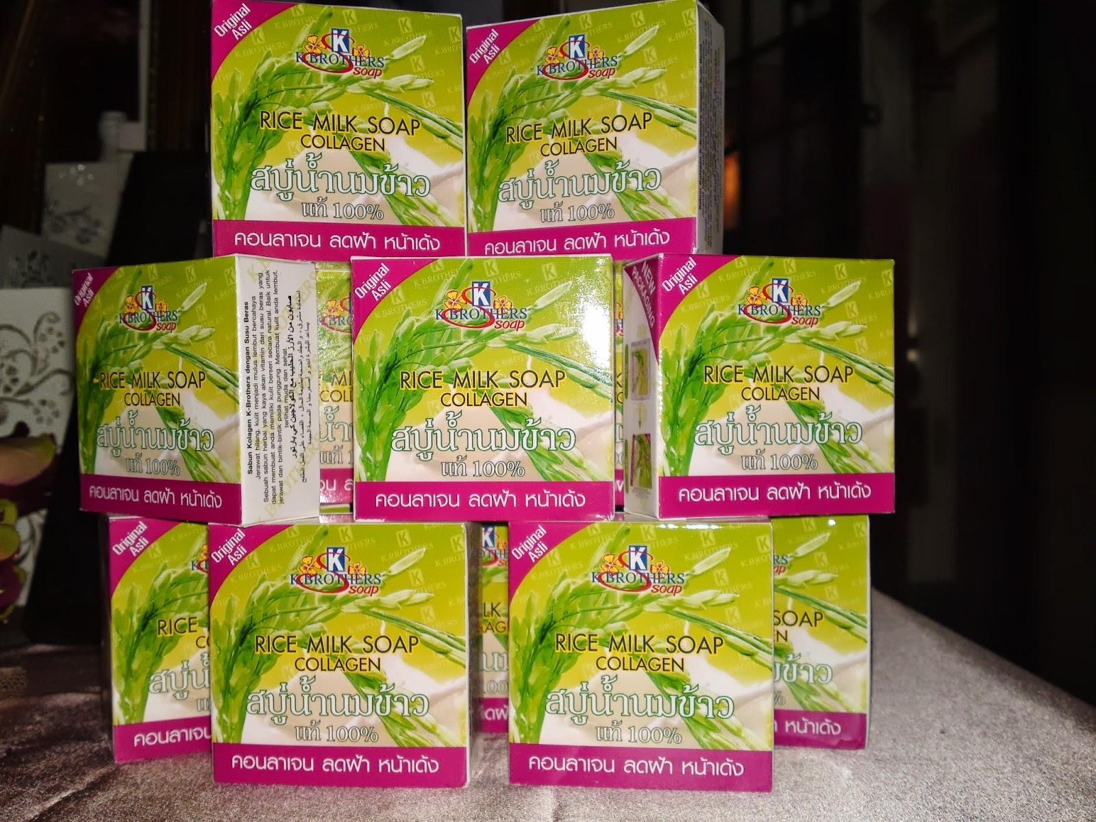 Sabun Susu Beras Collagen