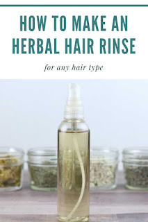 If you're looking for diy hair remedies, try this herbal apple cider vinegar hair rinse recipe.  This diy hair treatment restores shine and leaves hair softer and smoother.   This defrizz hair diy helps keep hair smooth when you use it once a week.  Add herbs or essential oils for stronger hair diy.  Learn which herbs to use for this herbal diy for your hair.  Diy healthy hair with this ACV rinse recipe that's great for any hair type.  You can choose herbs for diy hair growth for stronger hair.  This hair diy treatments is easy and inexpensive to make.  Herbal recipes like this are great for natural beauty.  #hair #diyhair #herbal #herbs #acv