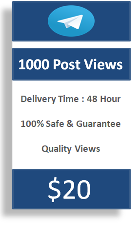 buy 1000 telegram post views
