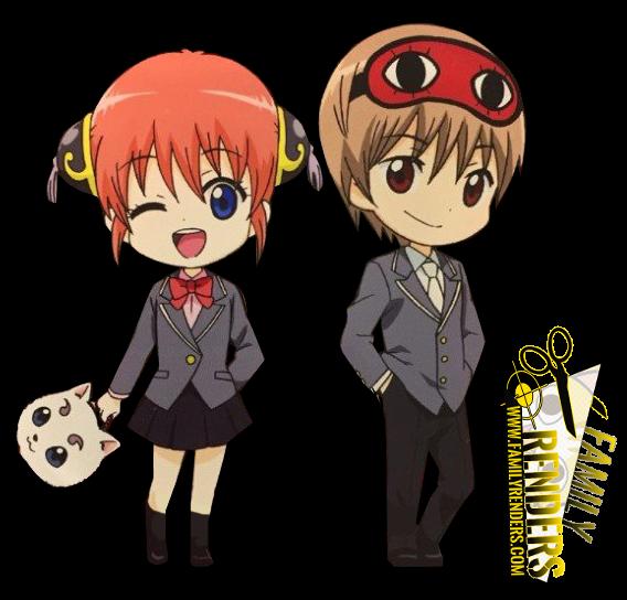 RENDER  Okita Sougo y Kagura