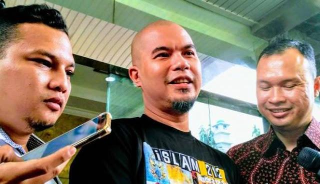 Diminta Prabowo Jaga Sikap, Ini Tanggapan Ahmad Dhani