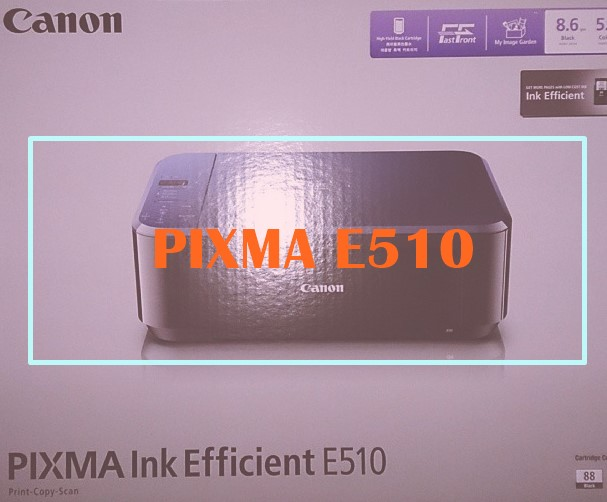 Review dan Harga Printer Canon PIXMA E510 September 2017