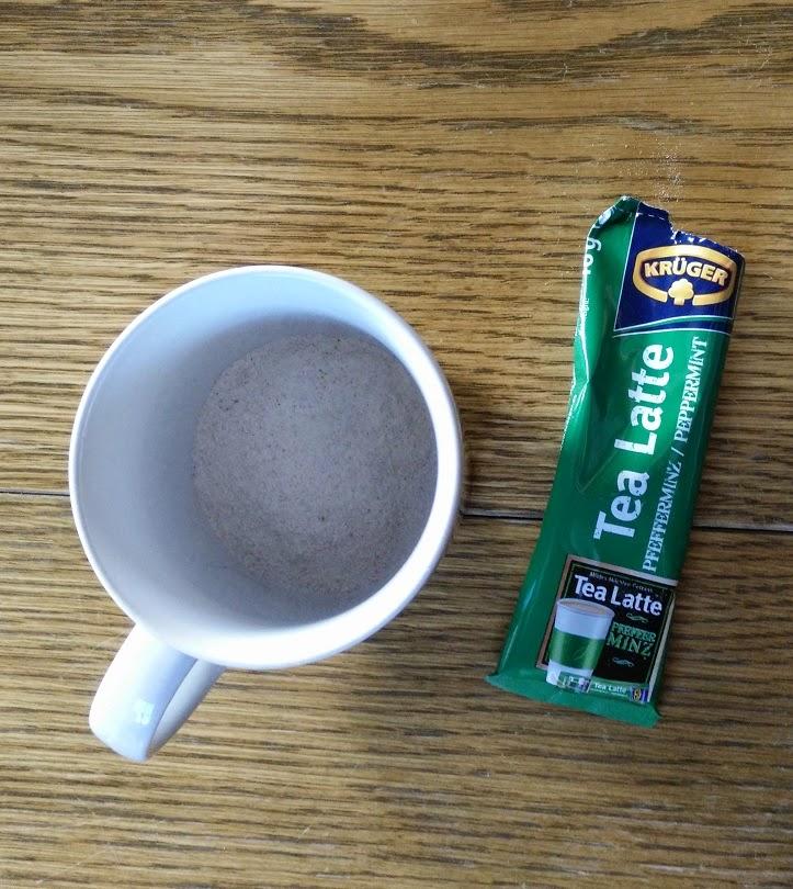 Nadine Testet Produkte : Krüger Tea Latte