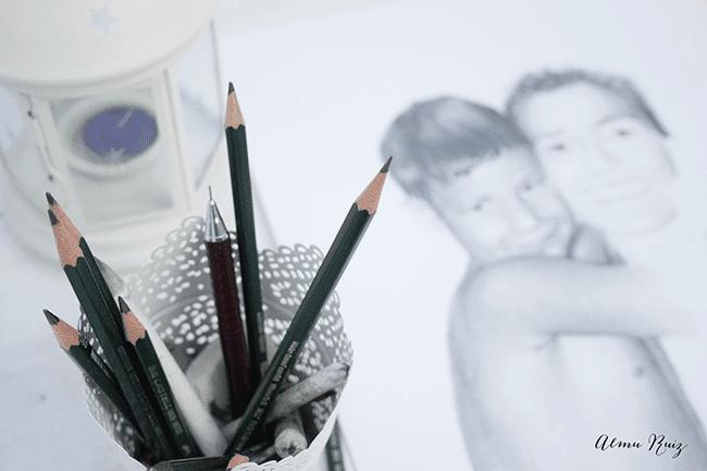 Dibujo artístico a lápiz