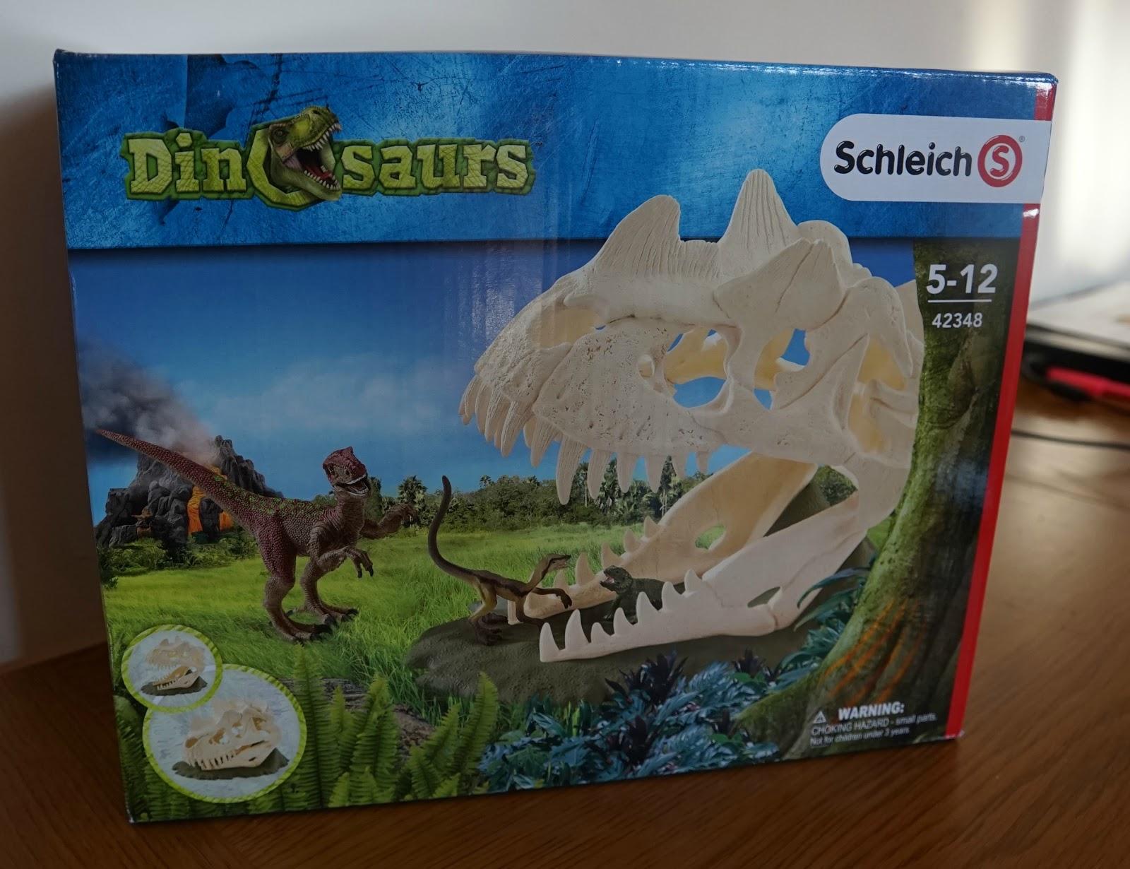 Schleich Large Skull Trap with Velociraptor Toy Figure Schleich North America 42348