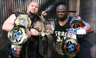 The Dudley Boyz champions