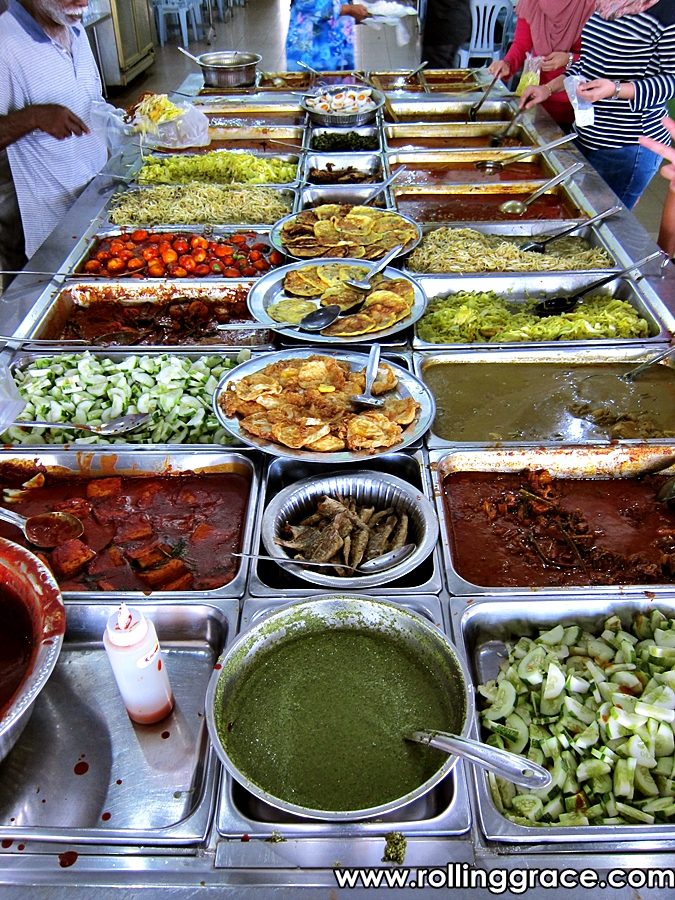 popular food in teluk intan