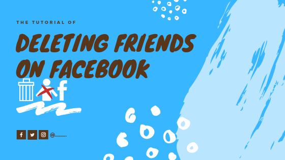 How To Remove Friend From Facebook<br/>