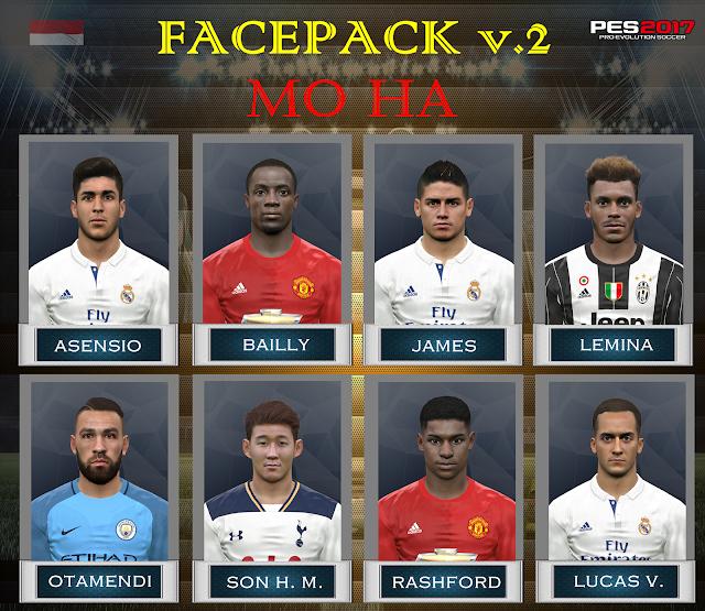 PES 2017 Facepack v.2 by Mo Ha