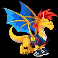 dragon futbolista dragon city