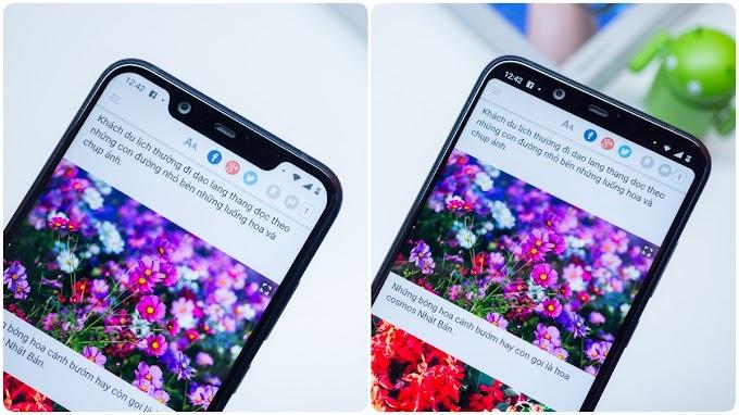 Hướng dẫn cách ẩn - tắt tai thỏ trên điện thoại Nokia 8.1