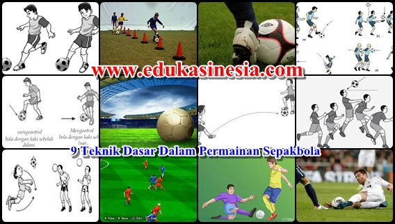 9 Teknik Dasar Dalam Permainan Sepak Bola Beserta Penjelasannya Terlengkap Edukasi Indonesia Edukasinesia Com