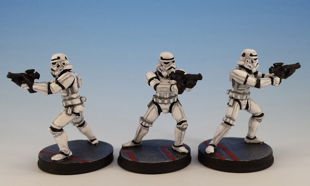 Stormtroopers, Imperial Assault FFG (2014, sculpted by Benjamin Maillet)