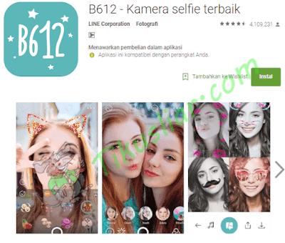 Aplikasi kamera selfie terbaik untuk android Kitkat