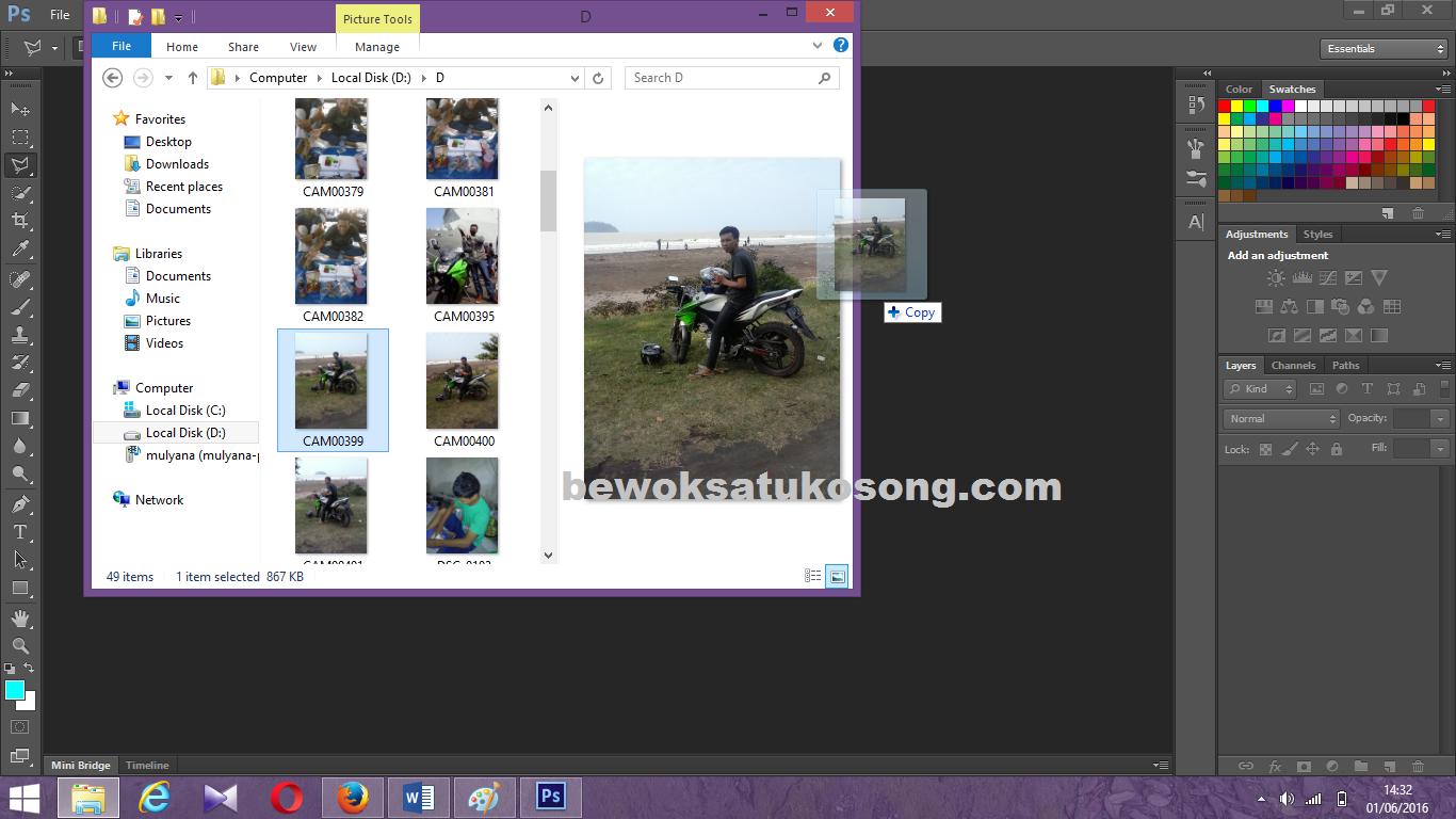 Tutorial Menghapus Objek Atau Gambar Dengan Photoshop Bewok Programming