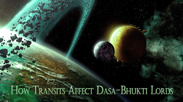 Power of Transits in Vimsotri Dasha : How Transits Affect Dasa-Bhukti Lords