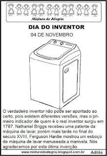 inventor máquina lavar