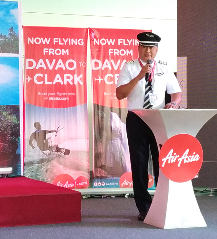 Captain Gomer Monreal, AirAsia Director for Flight Operations
