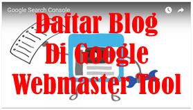 Selain dari beberapa perbedaan yang sudah ada mengenai tips atau cara mendaftar di google webmaster tool (Search Console), postingan ini juga termasuk berbeda cara penulisan dan penyampaiannya dengan yang sudah ada dibagikan oleh beberapa sahabat blogger lainnya (setiap orang berbeda-beda cara dan trik). Karena kenapa?  Karena pada postingan kali ini akan dibahas dari awal sampai ke tahap kirim site map, baik itu cara mengirim site map Blogger dan cara mengirim site map blog Wordpress ke webmaster google. Maka dari itu silahkan baca sampai akhir...  Sebelum kita lebih jauh membahas mengenai Google Webmaster Tool. Nah sebenarnya nama lain dari webmaster tool adalah Search Console, trus mungkin ada yang bertanya-tanya, apa itu sebenarnya search console ?  Untuk jawaban dari penulis yaitu merupakan salah satu tool yang merupakan layanan gratis dari Google untuk membantu para blogger dalam memantau atau mempertahankan situs, web, blog-nya tetap berada di mesin pencari atau di hasil mesin penelusuran google.  Jika tidak menerima atau tidak puas dengan jawaban tersebut, Anda bisa membaca sendiri jawaban pertanyaan di atas dari Google di halaman Support Google. Di halaman tersebut Anda juga bisa menemukan jawaban dari beberapa pertanyaan berikut : Apakah itu search console/webmaster tool ? Mengapa harus menggunakan search console ? Siapa saja yang harus/bisa menggunakan tool search console ? Ketiga pertanyaan di atas semua ada jawabannya di halaman Support Google tersebut.  Sampai disini pastinya Anda sudah mengetahui apa itu webmaster tool google, dan bagaimana pentingnya kita sebagai seorang blogger harus menggunakan search console. Jika Anda sudah mengetahuinya, maka kita akan melangkah ke langkah selanjutnya yaitu cara daftar dan verifikasi blog di google webmaster tools search console. Okey... lanjutkan membaca...
