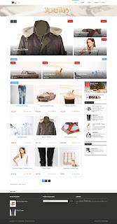 Storemag e-commerce Blogger Template