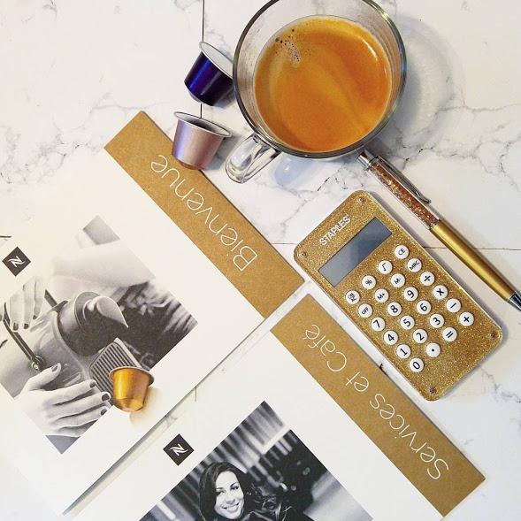 Bonjour Nespresso Inissia dans ma cuisine ou l'art de se récompenser...