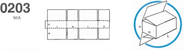 caja modelo 203