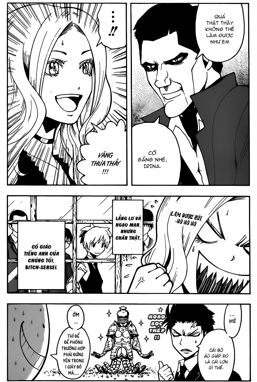 Ansatsu Kyoushitsu chap 27 trang 20