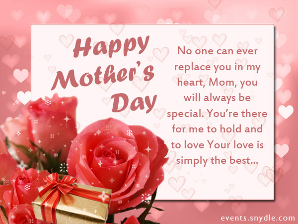 Mother's Day SMS with quotes